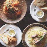 バードランドカフェのパスタランチ