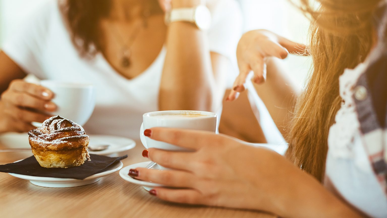 ママ友とカフェ