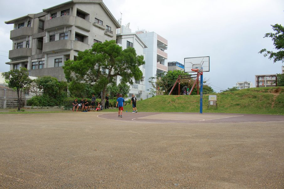 大宮公園のバスケットコート