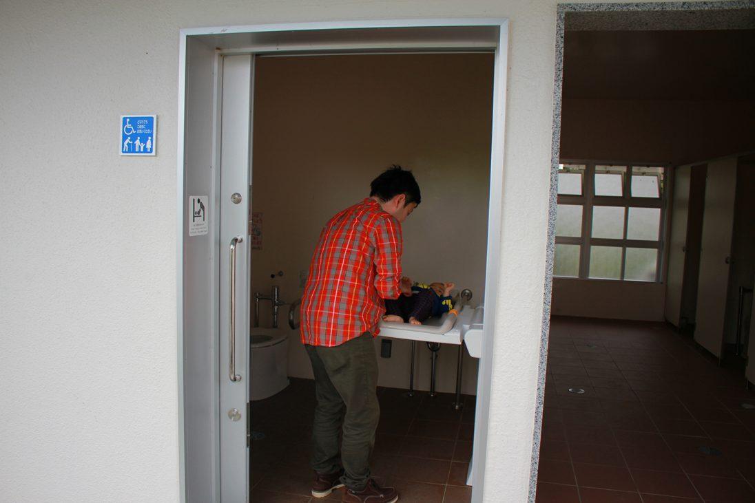 浦添大公園のトイレ