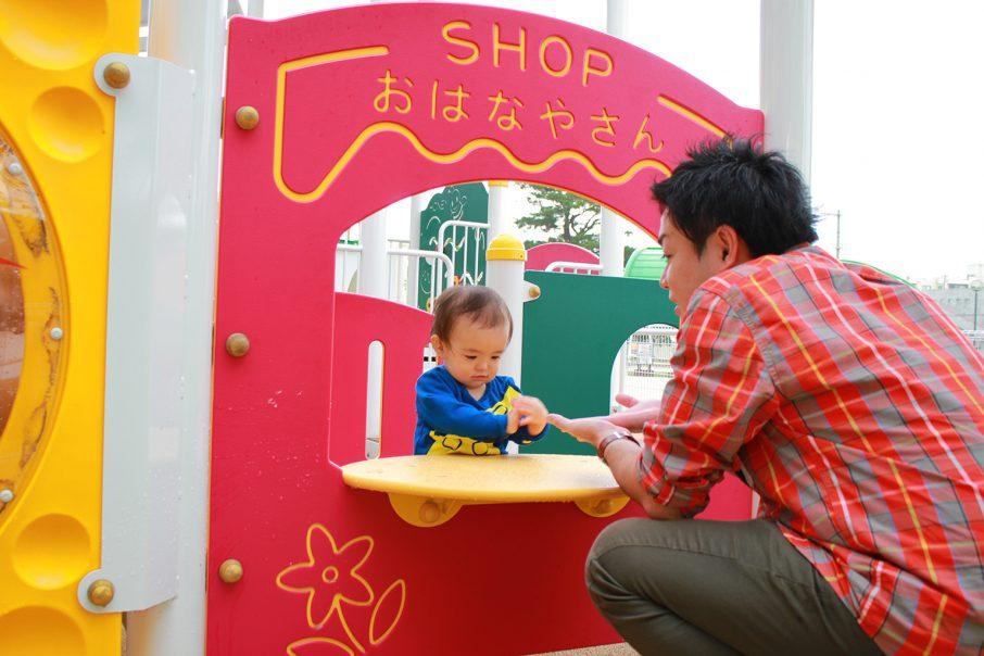 浦添大公園のキッズスペース