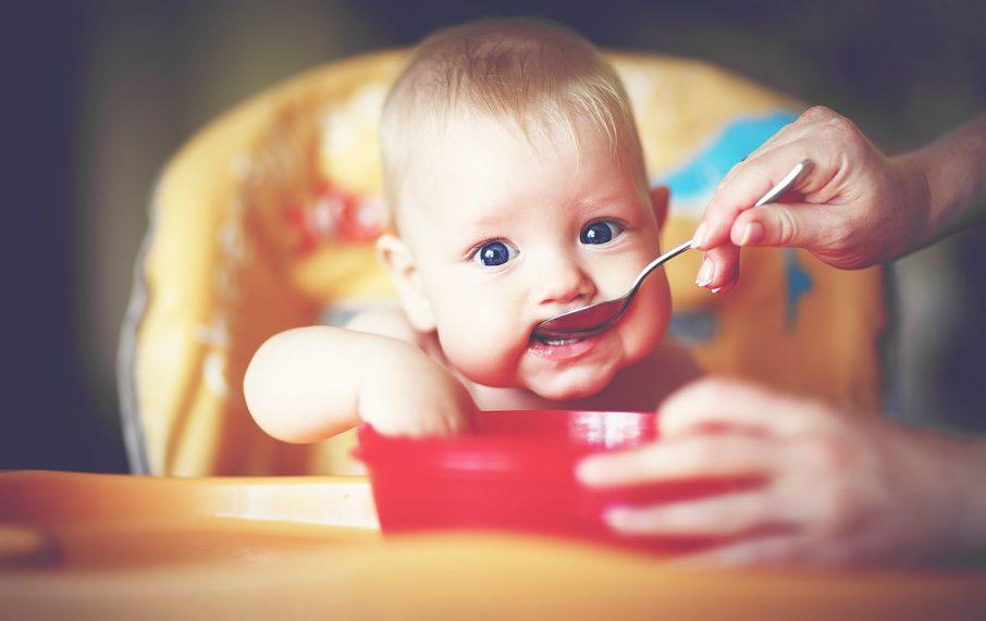 偏食する赤ちゃん
