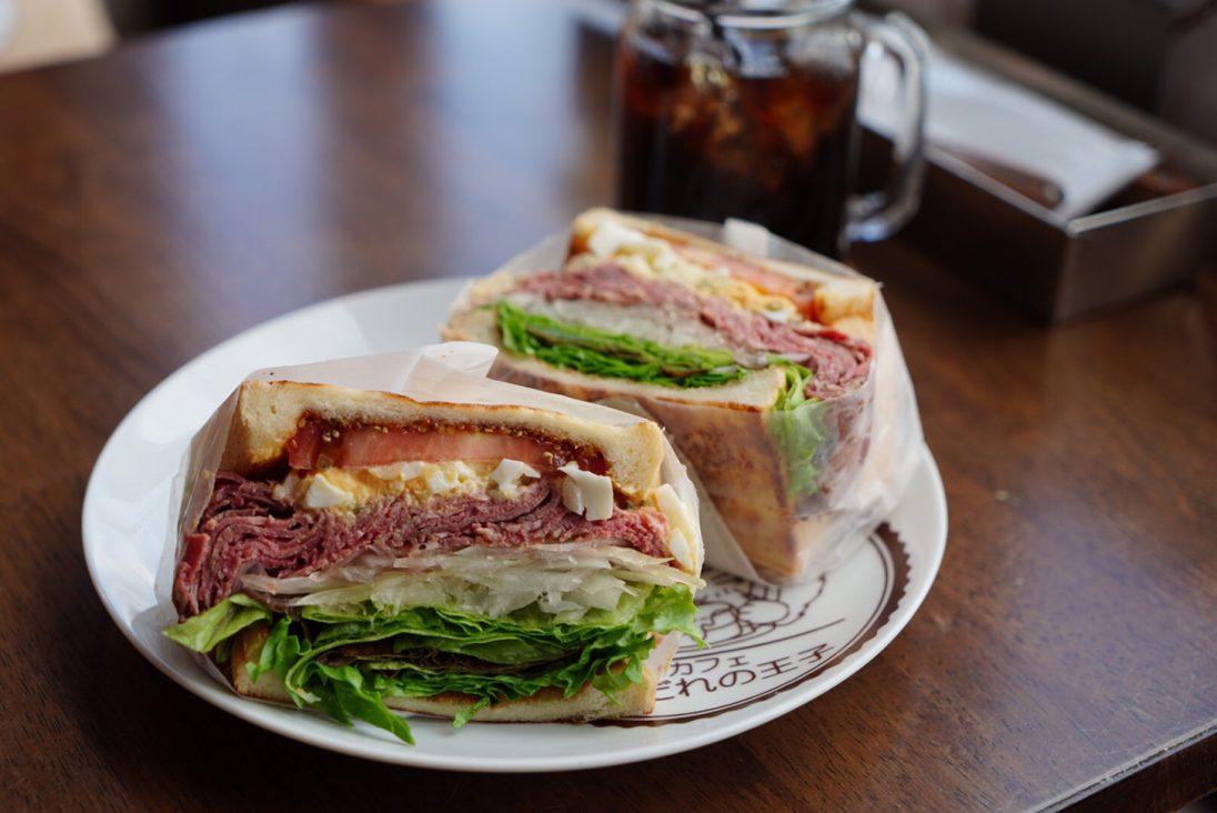 よだれの王子のサンドイッチ