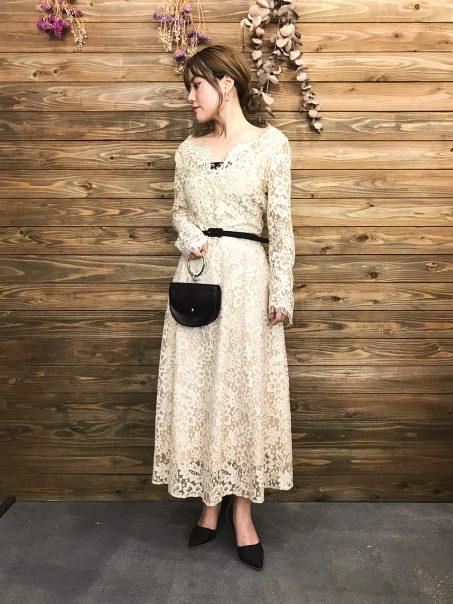 &mode秋冬ドレス